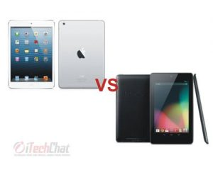 Apple iPad mini vs Google Nexus 7
