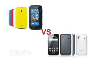 Nokia Lumia 510 vs Samsung Galaxy Ace S5830