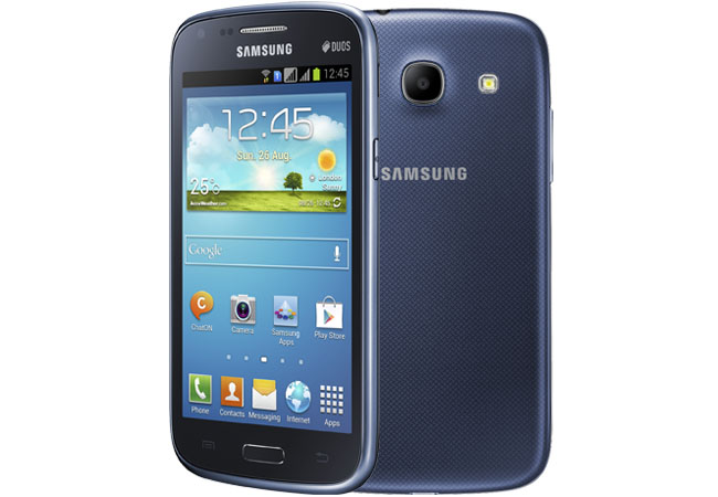 samsung galaxy core unveiled