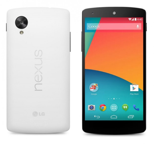 google nexus 5 with android kitkat 4.4