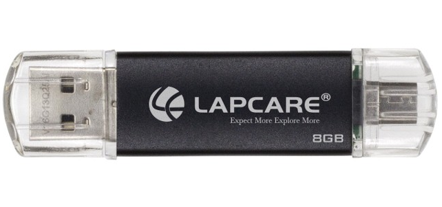 lapcare infinity duo hybrid dual pen drive