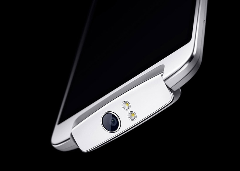 oppo n1 smartphone with rotating camera