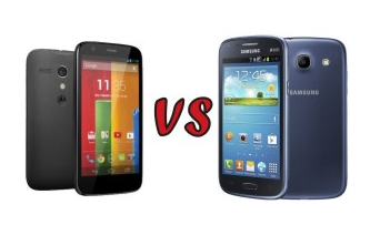 motorola moto g vs Samsung galaxy core