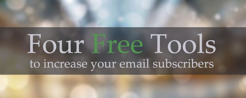free-tools email subscribers