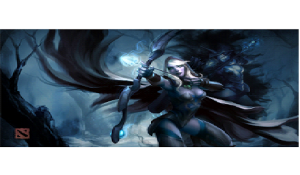 Traxes: The Drow Ranger- among the top 10 amazing dota heroes