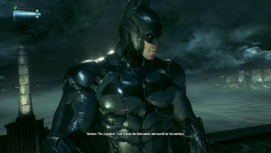 graphics of batman: arkham knight