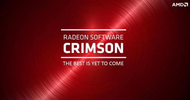 "Death of AMD catalyst - Meet the new ""Radeon Software"" Crimson edition"