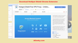 download hotspot shield chrome extension