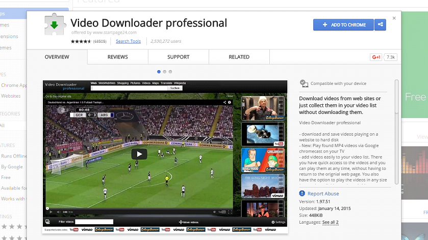 chrome extensions for videos downloading