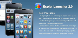 espier launcher- one of the best launcher for android