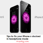 Fix iPhone 6 stuck in Headphone mode