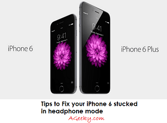 tricks to fix iphone 6 stuck in headphone mode