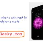 iPhone stuck in headphone mode-Fix