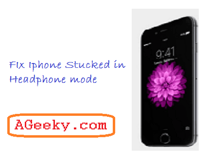 iphone stuck on headphone mode iphone stuck in headphone mode fix 17714