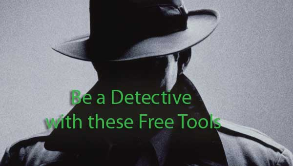 Free Reverse whois lookup tools detective