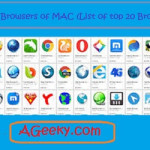 A Grand list of best web browsers for Mac (Top 20)