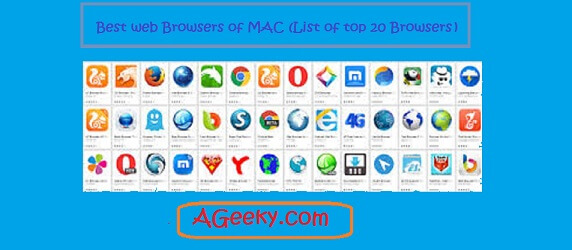 list of best browsers for mac