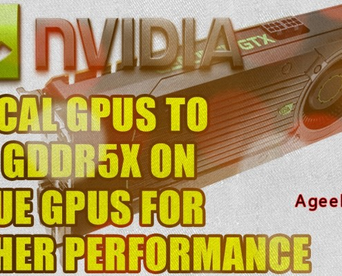 GDDR5X sampling to customer is been initiated by Micron