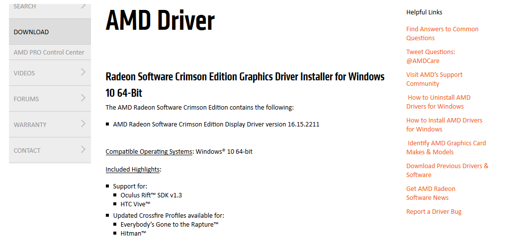AMD-Drivers