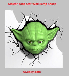 Master Yoda Star Wars lamp Shade