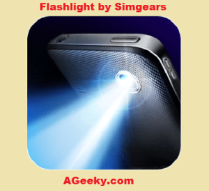 best flashlight android app by simgears
