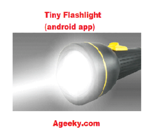 tiny flashlight