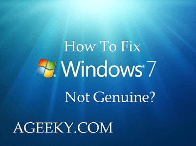 windows 7 not genuine patch