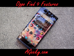 oppo find 9 features
