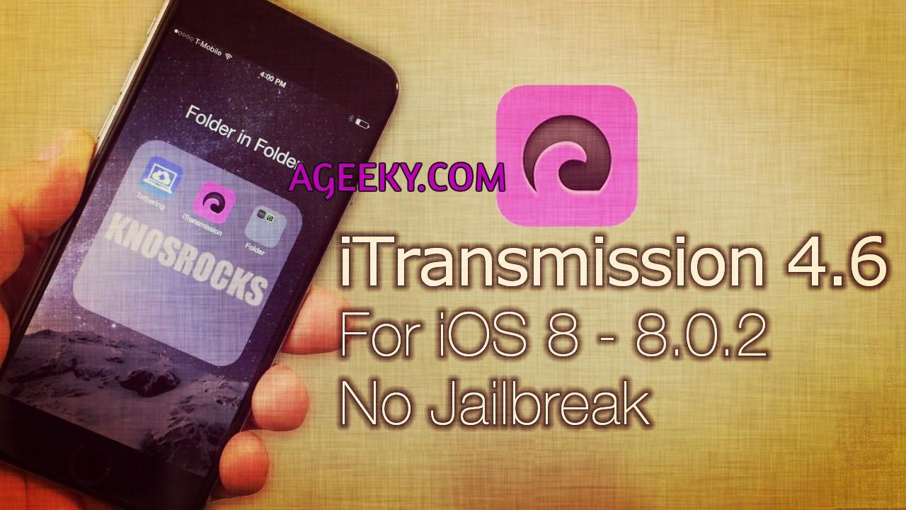 iTransmission best torrent downloader for iPhone