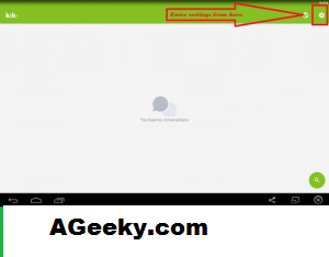 step by step guide to deactivate kik account step 1