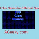 Cool Clan Names for Different Games