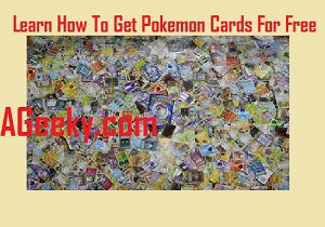 get pokemon cards for free