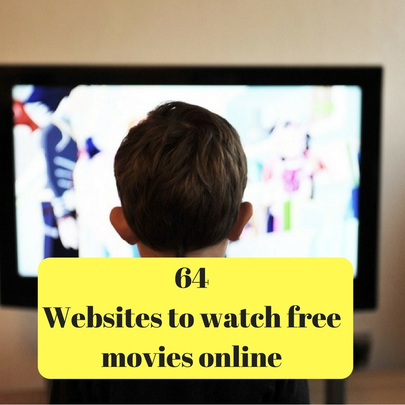 websites to watch free movies online