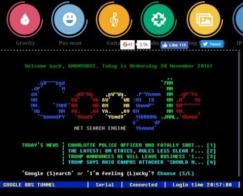 google terminal trick